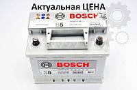 Аккумулятор Bosch S5 63 Ah 0092S50050 Пусковой ток 610 A, Правый +, Размеры на картинке