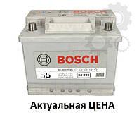 Аккумулятор Bosch S5 63 Ah 0092S50060 Пусковой ток 610 A, Левый +, Размеры на картинке