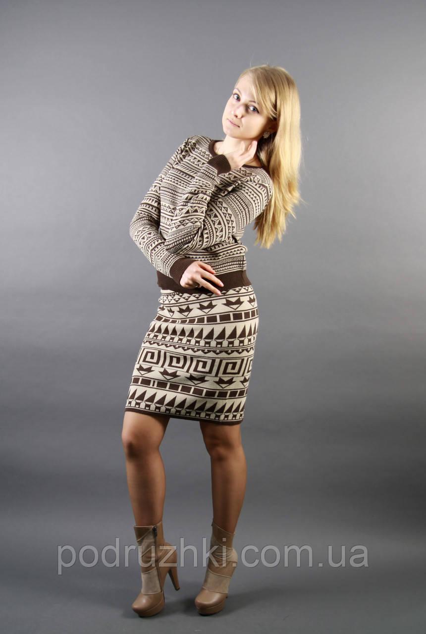 Черный вязаный свитер женский доставка