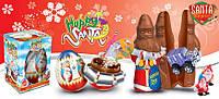 Шоколадная фигурка Дед Мороз с сюрпризом 38 гр.