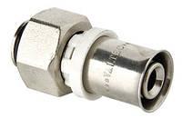 Соединитель для коллектора под пресс для м/п трубы евроконус 16 х3/4  2,0 Valtec VTc.712.NЕ.1605
