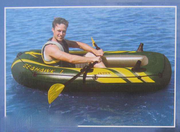 лодка надувная seahawk 3 intex видео