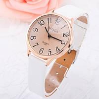 Женские стильные винтажные часы Relogio Белые