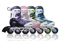 Роликовые коньки раздвижные  amigo sport  Reflex