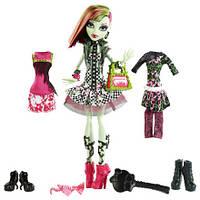 Кукла Монстер Хай  Венера МакФлайтрап  Я люблю Моду (Monster High Venus McFlytrap I love Fashion)