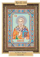 """Схема для вышивки бисером """"Святой апостол Иаков Зеведеев"""""""
