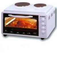 Электрическая духовка с плитой Asel AF 0125
