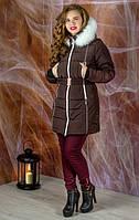 Теплые женские пуховики и куртки