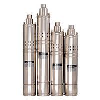 Насос для скважины Sprut 4S QGD 1,2-100-0,75кВт пульт встроенный