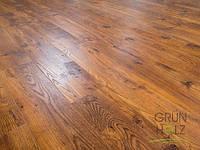 Ламинат Grun Holz Дуб Бавария тёмный 1215*165*8,3 мм 33 класс 93405
