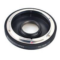 Адаптер (переходник) Canon FD - Canon EOS (FD-EOS) с корректирующей линзой