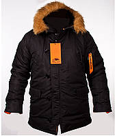 Куртка зимняя N-3B black Chameleon