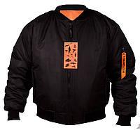 Куртка зимняя МА-1 black Chameleon