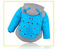 Пуховая детская куртка унисекс