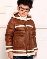 Пуховая зимняя куртка для мальчика