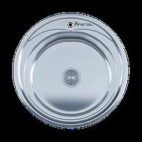 Мойка кухонная IMPERIAL 510A Polish(510*175/180мм)толщина: 0,6 мм, 0,8 мм