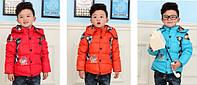 Пуховая зимняя куртка на мальчика