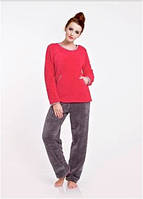 Пижама женская теплая зимняя Dobranocka 6088