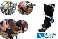 Компрессионные гольфы, носки Miracle Socks с лечебным эффектом от варикоза