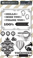 Штампы Teresa Collins - Clear Acrylic Stamps, MB1014