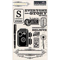 Штампы Teresa Collins - Clear Acrylic Stamps, SUM114