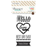 Резиновые штампы Websters Pages - Sweet Notes - Happy day, IB-WP-103