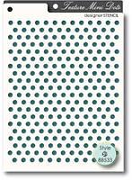 Трафарет Memory box Stencil - Texture Mini Dots, 88533