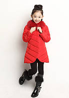 Зимняя пуховая куртка для девочки