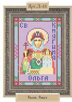 """Схема для вышивки бисером """"Святая равноапостольная княгиня Ольга"""""""