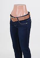 Женские джинсы утепленные на флисе