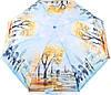 Прекрасный женский компактный зонт, полуавтомат ZEST (ЗЕСТ) Z24665-1 Антиветер!