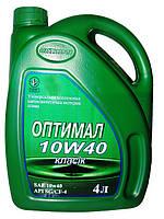 Масло моторное 10W-40, 4 л ОПТИМАЛ