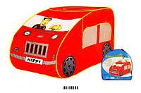Палатка для детей машина