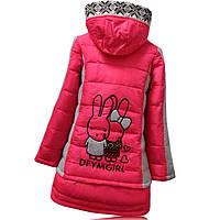 Пуховая детская куртка на девочку
