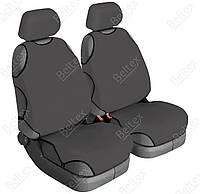 Чехлы на передние сиденья Beltex Delux с подголовниками / цвет:серый