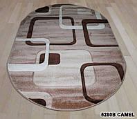 Ковер DAISY CARVING 5280 b camel oval