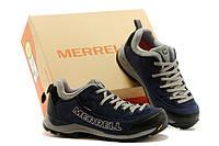 Зимние мужские ботинки Merrell синие