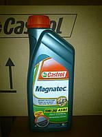 Синтетическое моторное масло Castrol Magnatec 5w30 A3/B4 1 литр