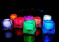 Светящийся кубик льда led