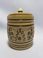 Бочка деревянная маленькая (Деревянные сахарницы, солонки и наборы для специй)