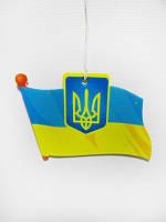 Ароматизатор в авто Флаг (С украинской символикой)