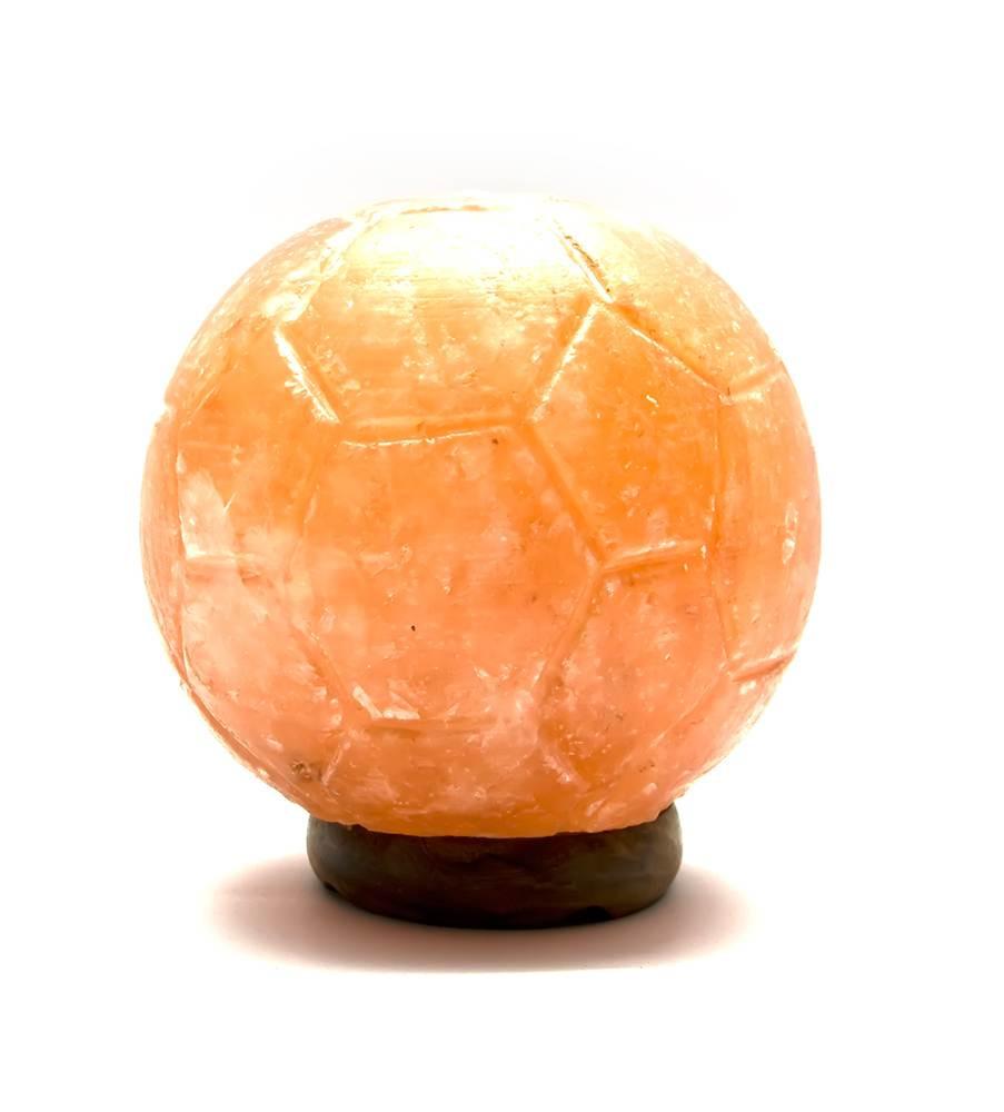 Соляная лампа Футбольный мяч