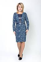 Красивое женское платье принтированное, фото 1