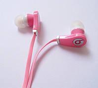 Наушники копия Monster Beats розовые, фото 1