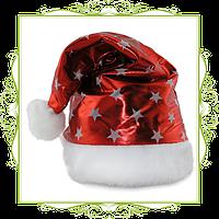 Колпак Санта Клауса со звездочками