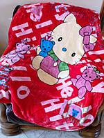 Детский флисовый плед Hello Kitty!