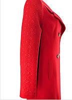 Пальто с вышивкой красное, черное, белое, под заказ