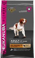 Eukanuba - Экануба корм для взрослых собак маленьких и средних пород с ягненком и рисом 12кг