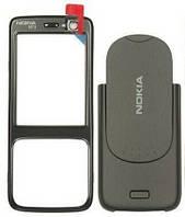 Корпус для телефона Nokia N73 черный (передняя и задняя панель)