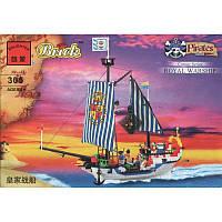 Конструктор Brick (Брик) Пиратский корабль 305